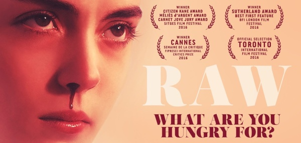 Raw (Movie) Banner