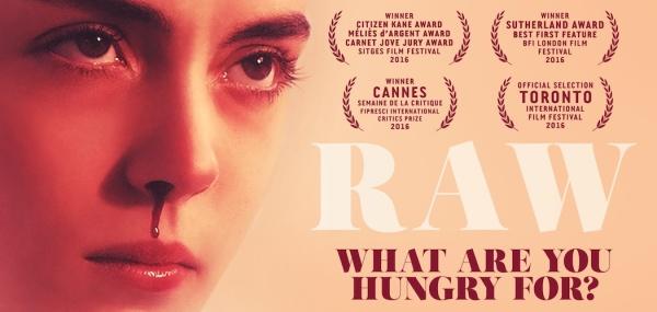 Raw (Movie) Banner